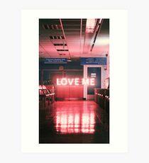 """Lámina artística El """"Love Me"""" de 1975"""