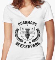 rush more Women's Fitted V-Neck T-Shirt