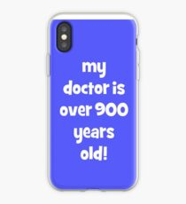 my doctor is over 900 years old! iPhone Case