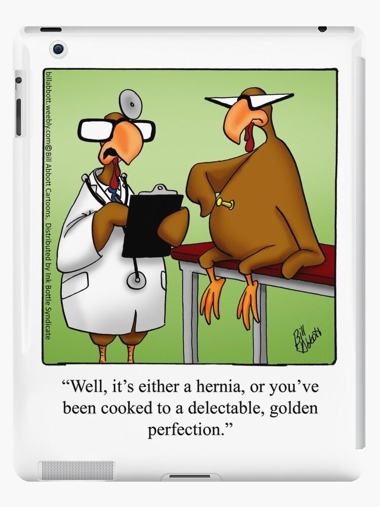 Quot Funny Quot Spectickles Quot Thanksgiving Cartoon Quot Ipad Case