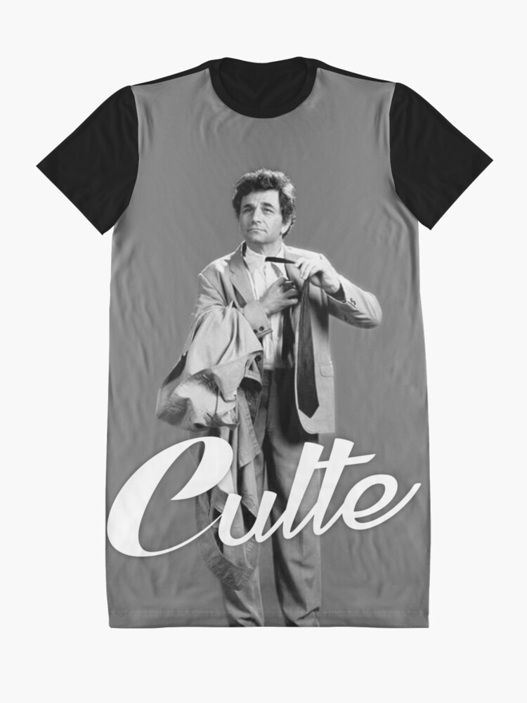 Alternate view of Cult Columbo Graphic T-Shirt Dress