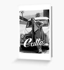 Culte Columbo Greeting Card