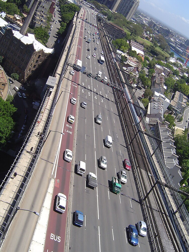 Above the traffic by judy