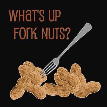The Good Place Fork Nuts by LWLex