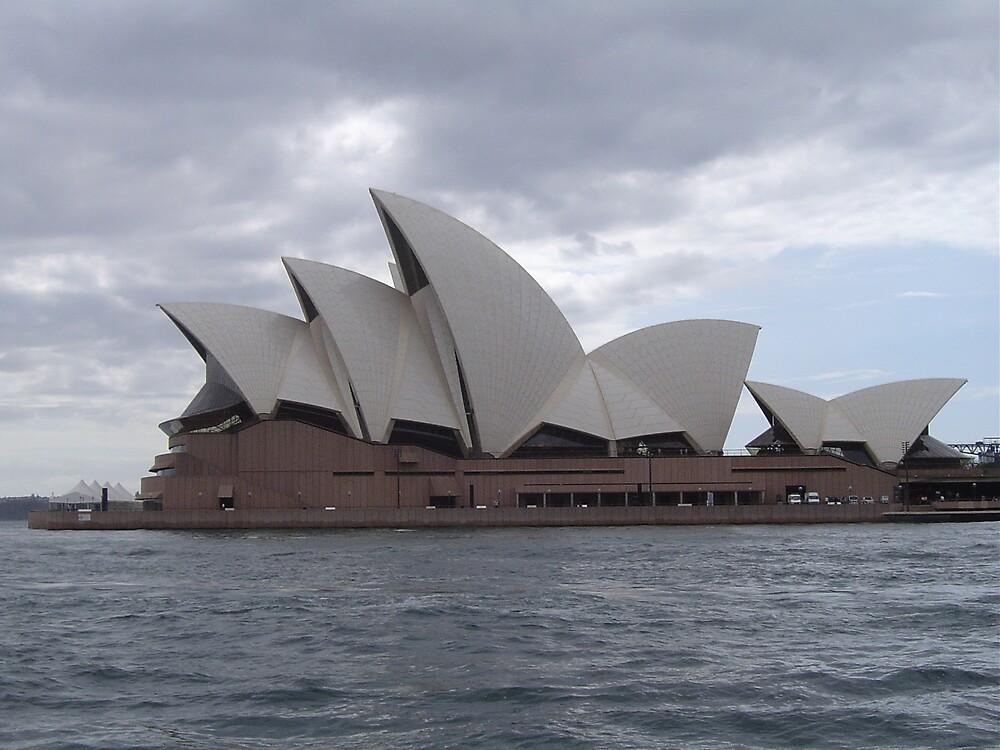 Dark Opera House by judy