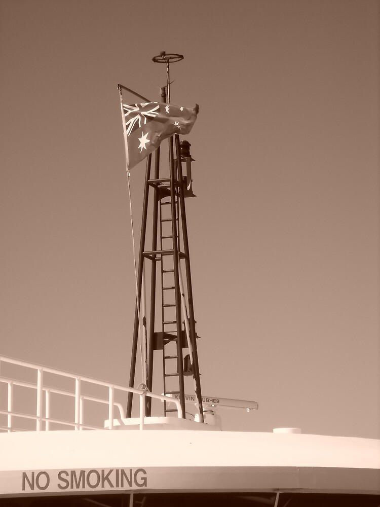 Flag Mast by Alyce Moore
