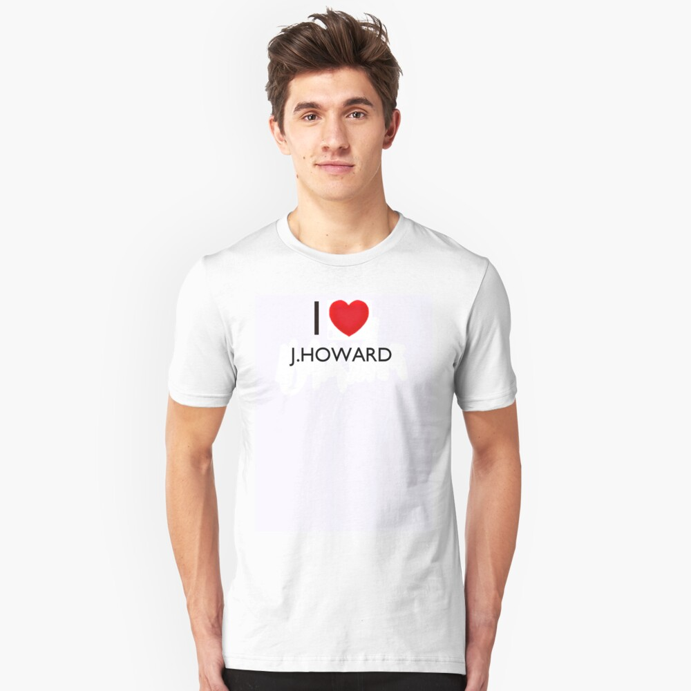 J Howard Unisex T-Shirt Front