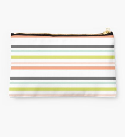 Classic Preppy Stripes Studio Pouch