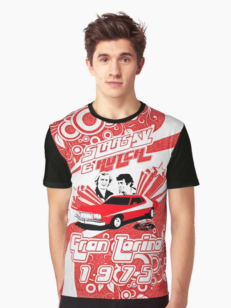 Stasky Hutch Ford Gran Torino  Graphic T Shirt Front