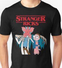 stranger rick morty  T-Shirt