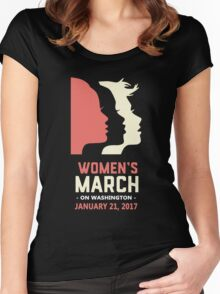 Women's march  Women's Fitted Scoop T-Shirt