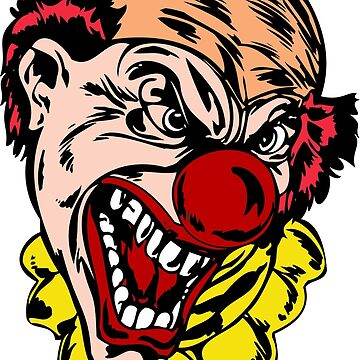 Scary killer clown by tillhunter