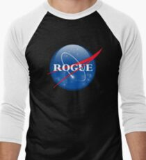 Rogue NASA @RogueNASA Facts & Science Men's Baseball ¾ T-Shirt