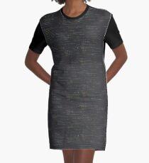 Code Graphic T-Shirt Dress