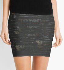Code Mini Skirt