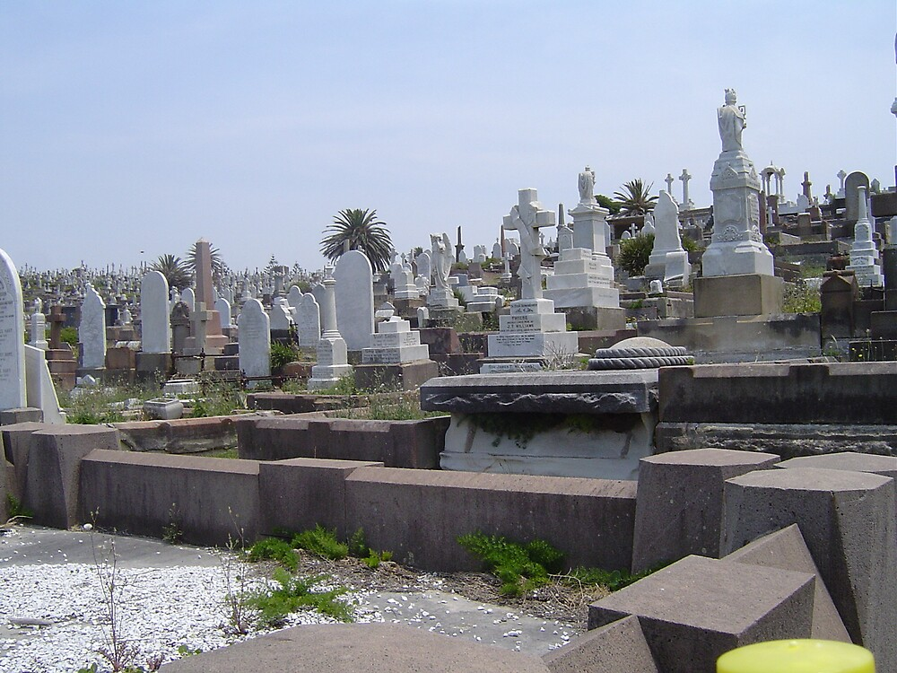 Cemetary by judy