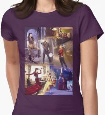 Once Upon A Time - main cast Women's Fitted T-Shirt