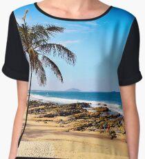Beach in Australia Chiffon Top