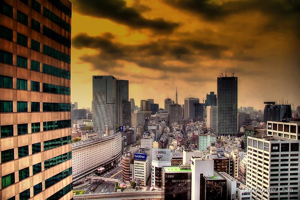 Akasaka, Tokyo by Christopher Chan