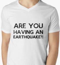 Sherlock - Are You Having An Earthquake?! Men's V-Neck T-Shirt