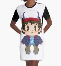 Dustin Graphic T-Shirt Dress