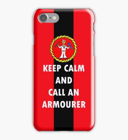The Armourer #1 iPhone Case/Skin