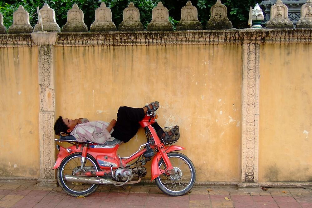 Resting in Cambodia by AlexOZ
