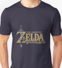 Camiseta ajustada the legend of Zelda Breath of the wild