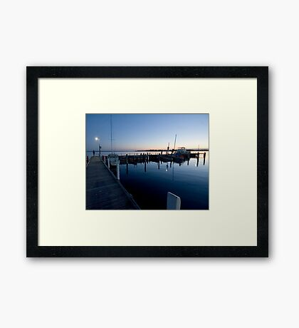 Evening Peace Framed Print