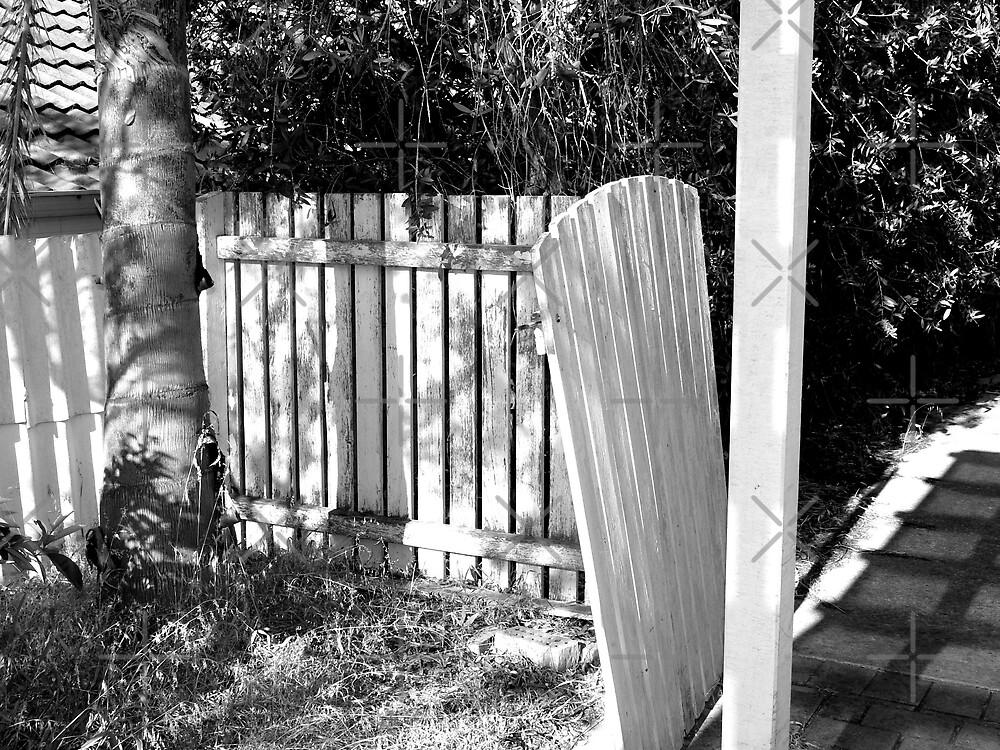 Hanging gate by Sandra Chung