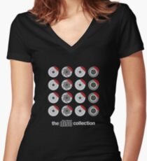 The ultimate disc collection Women's Fitted V-Neck T-Shirt