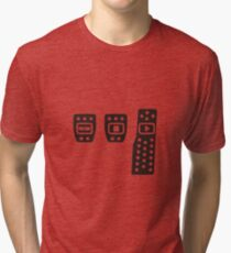 Play with pedals Tri-blend T-Shirt