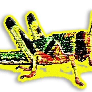 The Locust - Designs By Adz Riddell by adzriddell