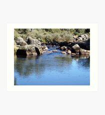 Junction Pools - Barrington Tops Art Print