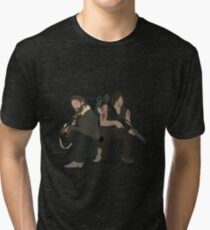 Daryl Dixon and Rick Grimes - The Walking Dead Tri-blend T-Shirt