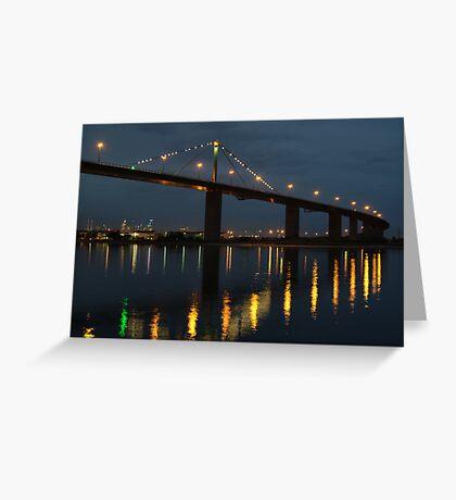 West Gate Bridge Greeting Card