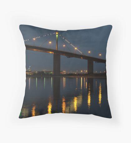 West Gate Bridge Throw Pillow