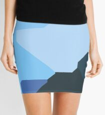 Abstract camouflage Mini Skirt