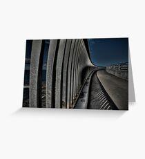 Sea Cliff Bridge Greeting Card