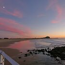 nobbys beach  by Ty Cooper