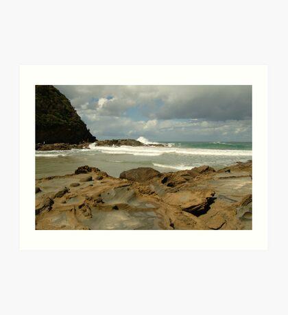 Parker Hill Beach,Great Ocean Road Art Print