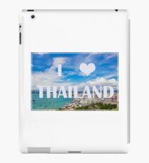 Thailand view point tourist attraction I love Thailand iPad Case/Skin