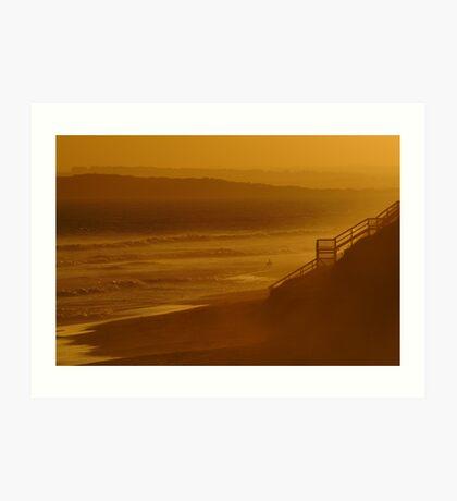 Wave Rider,13th Beach Art Print