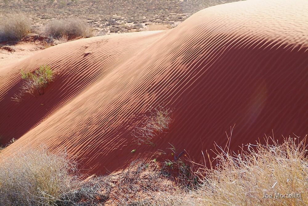 Sand Hill Patterns,Simpson Desert,N.T. by Joe Mortelliti