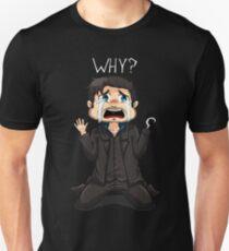 Tiny Hook - Why? (Dark) Unisex T-Shirt