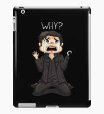 Tiny Hook - Why? (Dark) iPad Case/Skin