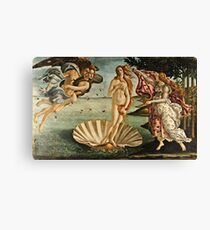 Botticelli - The Birth Of Venus (1483 - 1485) Canvas Print