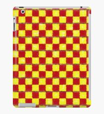 Yellow Chess iPad Case/Skin