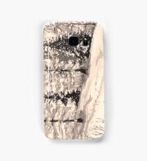 les arcs 1800 snow scene Samsung Galaxy Case/Skin