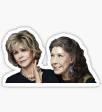 Grace and Frankie 2 Sticker